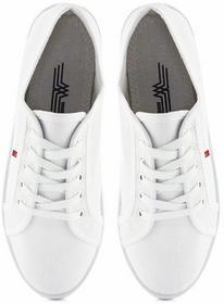 Białe sportowe Abella biały