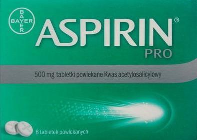 Bayer Aspirin Pro 500 mg 8 szt.