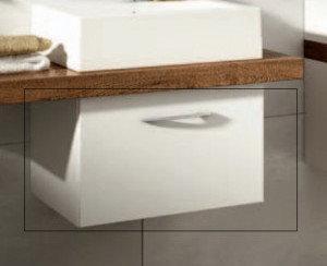 Aquaform MERIDA - szafka pod umywalkę podblatowa z szufladą 50 x 33,3 x 46,6 cm