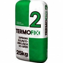 Termofix2 zaprawa klejowa do styropianu i siatki 25kg