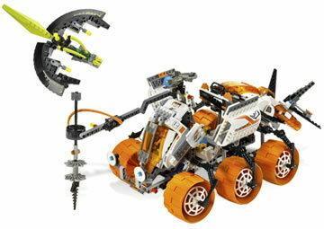LEGO MARS MISSION MT-101 Armored Drilling Unit 7699