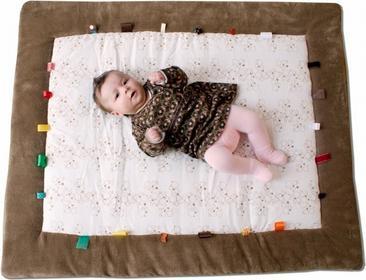 Snoozebaby Mata do zabawy - karmelowa