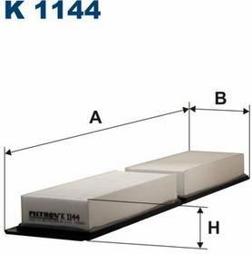 FILTRON K 1144 Filtr Kabinowy
