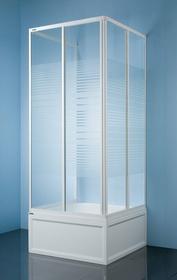 Sanplast Classic 70 KT/Dr-c-70 70x70 profil biały szkło polistyren P Pearl