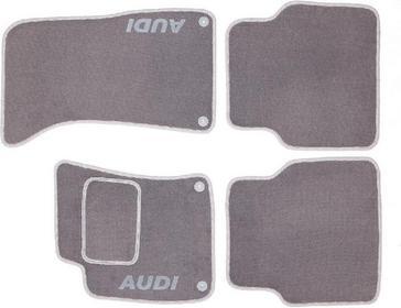 MotoHobby Dywaniki samochodowe AUDI A8 D3 02-09 - AUDI A8 D3 02-09 Komplet dywan