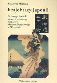 Maleszko Katarzyna Krajobrazy Japonii