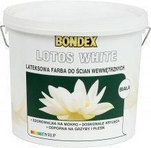 Bondex Farba lateksowa Lotos White 10L biała matowa 351325