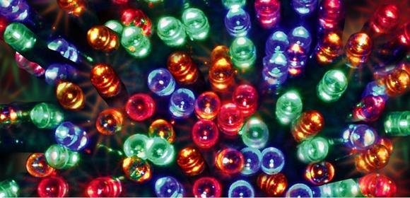 BULINEX Lampki choinkowe LED KOLOR