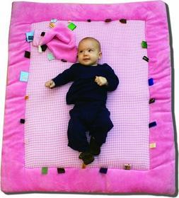 Snoozebaby Mata do zabawy - różowa