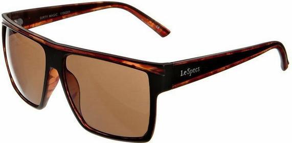 Le Specs DIRTY MAGIC Okulary przeciwsłoneczne matte brązowy/tort LSP11000201