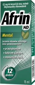 Schering-Plough Afrin ND Mentol 15 ml