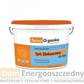 Termo Organika Tynk siloksanowy TO-TSA 25 kg, Granulacja [mm] - 1,5, Struktura -