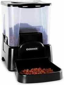 Duramaxx Petbutler podajnik karmy dla zwierząt 10,6 l czarny CPT-Petbutler