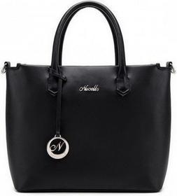 Nucelle Klasycznie elegancki shopper Czarny 1170170-01