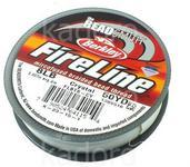 Nici BeadSmith FireLine 8LB Crystal - szpulka