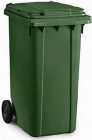 2-kołowy Pojemnik na odpady 240L EKO EKOSMGB240