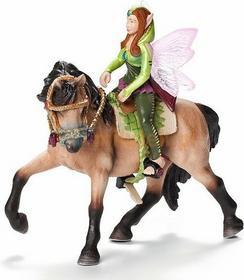 Schleich Zestaw do jazdy konnej elf leśny 42109