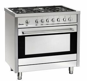 Bartscher 5-palnikowa kuchnia gazowa z dużym piekarnikiem gazowym BT1509851