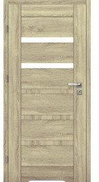 Skrzydło drzwiowe łazienkowe Etna 40 80 lewe Dąb Sonoma