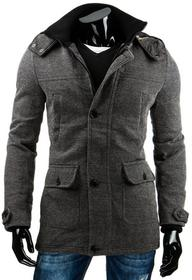 DStreet Płaszcz męski szary (cx0307)