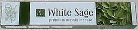 Kadzidełka BIAŁA SZAŁWIA WHITE SAGE PYŁKOWE 15g
