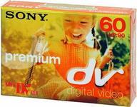 Sony kaseta Mini DV Premium DVM60PR3