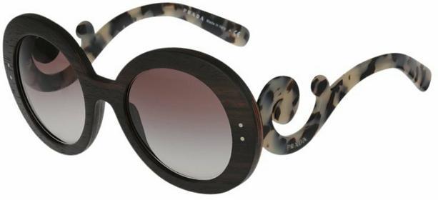 Prada Okulary przeciwsłoneczne dark brązowy 0PR 27RS