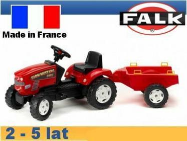 Falk Traktor Mustang z przyczepą FA1060B