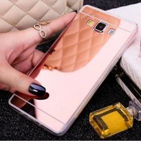 Samsung Slim Mirror Case Różowy | Etui dla Galaxy J5 156187