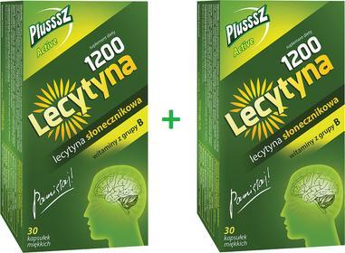 Polski Lek Lecytyna 1200 Plusssz Active Duopack 30+30 kaps