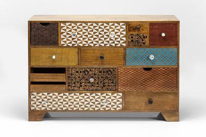 Kare Design Komoda / Kredens Soleil 14 szuflad 80189