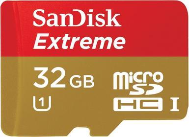 SanDisk microSDHC Extreme Class 10 UHS-1 32GB