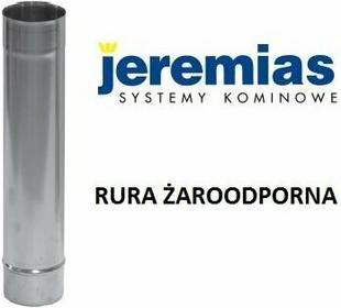 Jeremias rura żaroodporna fi 160 1000 mm, spalinowa, Kominowa, do kotłów na pali