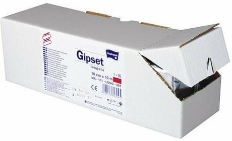 Gipset Szybkowiążąca longeta gipsowa gipsowa 20mx12cm - 1 szt.