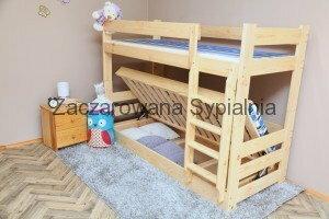 Zaczarowana Sypialnia Łóżko piętrowe TAPCZAN HIT sosna pod materace 80x200 (bez materacy)