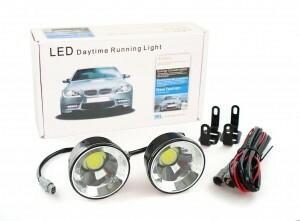 Światła samochodowe LED - okrągłe COB