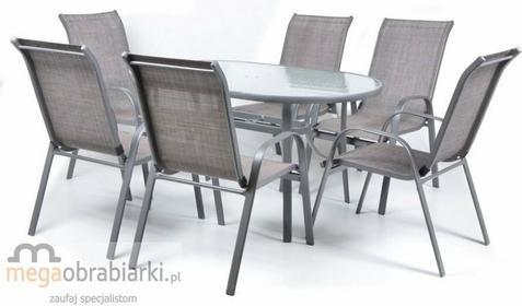 Hecht Zestaw mebli ogrodowych stół + 6 krzeseł Ekonomy Set Ekonomy Set 6