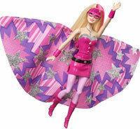 Mattel Barbie - Super Księżniczka Filmowa lalka 2w1 CDY61