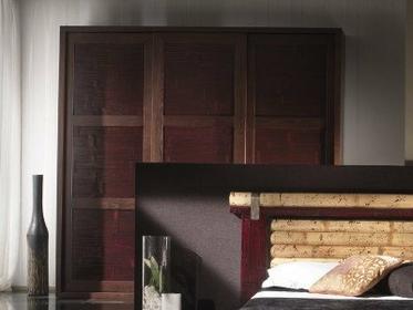 Bortoli Szafa z bambusa prasowanego Isayto 3 przesuwne drzwi