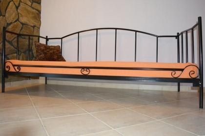 Grupa Lak System Łóżka metalowe Łóżko metalowe sofa 120x200 WZÓR 18 12020018