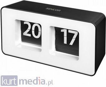 SDC 100 Zegar RETRO, format 24-godzinny, minuty z inwersją