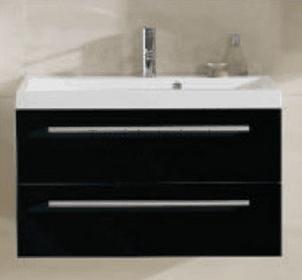 Elita szafka pod umywalkę KWADRO 80 BLACK 163026