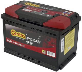 Centra Plus 12 V 74Ah 680A L+ CB741