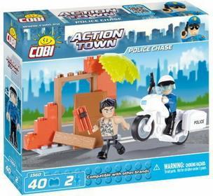 Cobi Action Town Motocykl Policyjny 1560