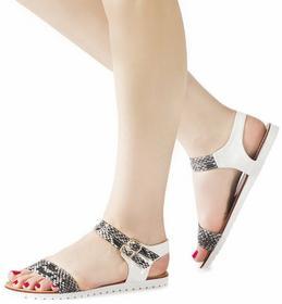 Białe sandały Stephanie biały