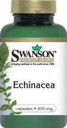 SWANSON Echinacea jeżówka 400mg 100 szt.