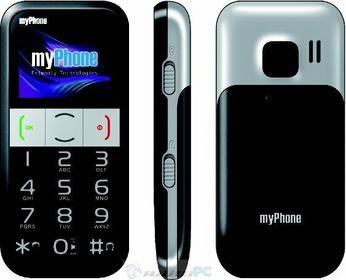myPhone 1082 Elegant Czarno-srebrny