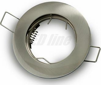 LED line Oprawa okrągła stała, odlew - satyna 242823