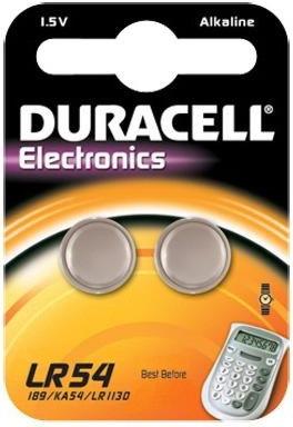 Duracell Bateria LR54 (LR1130, AG10) 2 sztuki 31998