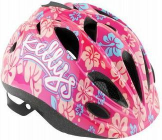 Kellys Kask rowerowy dziecięcy BUGGIE pink flower
